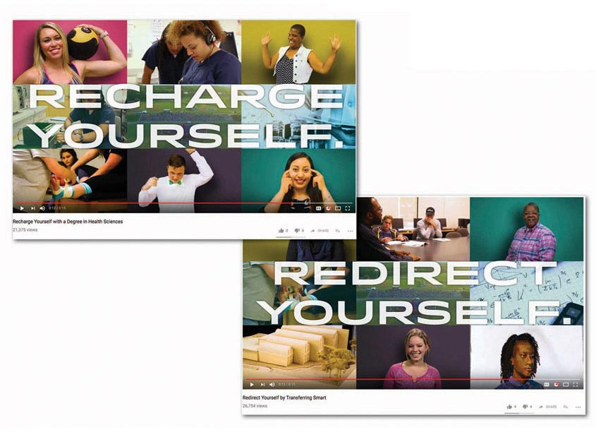 Redefine Yourself Commercials by Anne Arundel Community College