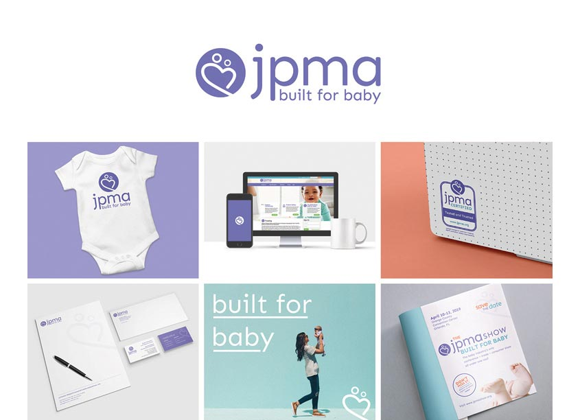 Built for Baby Branding by Association Headquarters