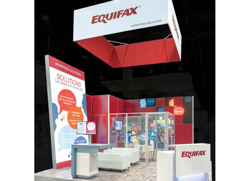 Equifax Workforce Solutions Trade Show Booth