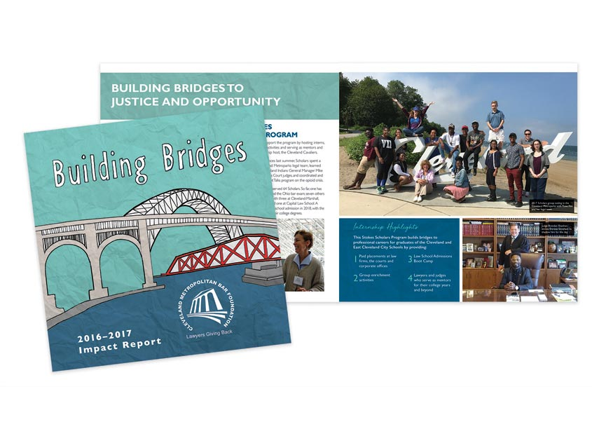 Building Bridges 2016-2017 Impact Report by Cleveland Metropolitan Bar Association