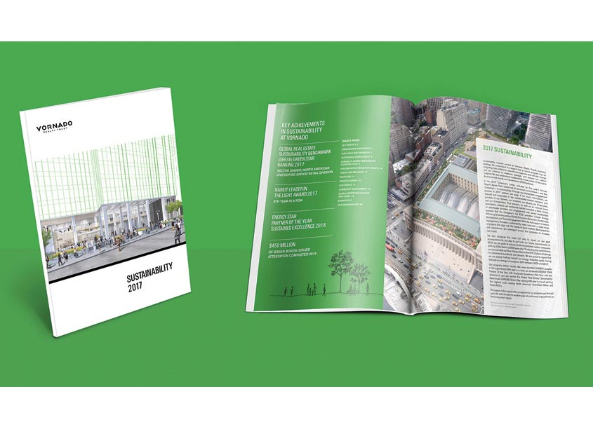 Vornado 2017 Sustainability Report by Odgis + Company