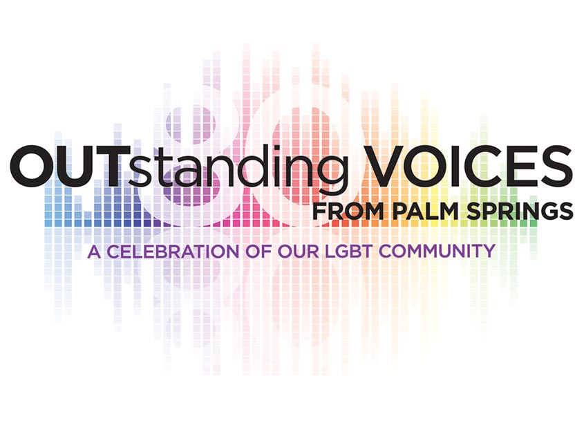 Mark Duebner Design 80 LGBT Voices Logo