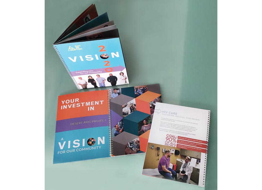 Mark Duebner Design Vision 2020 Capital Campaign Brochure