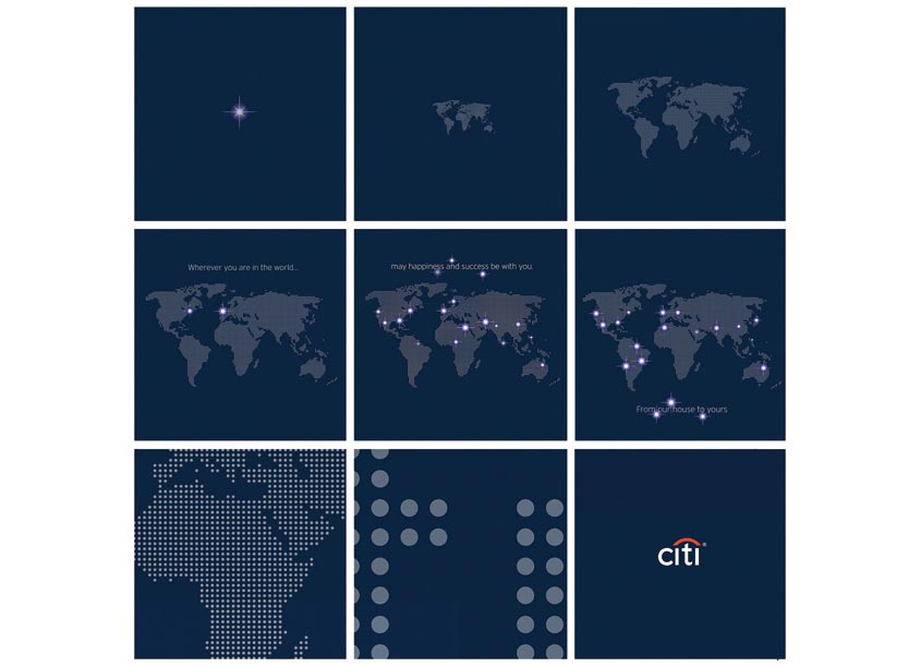 Commercial Bank 2018 Holiday Greeting by Citi
