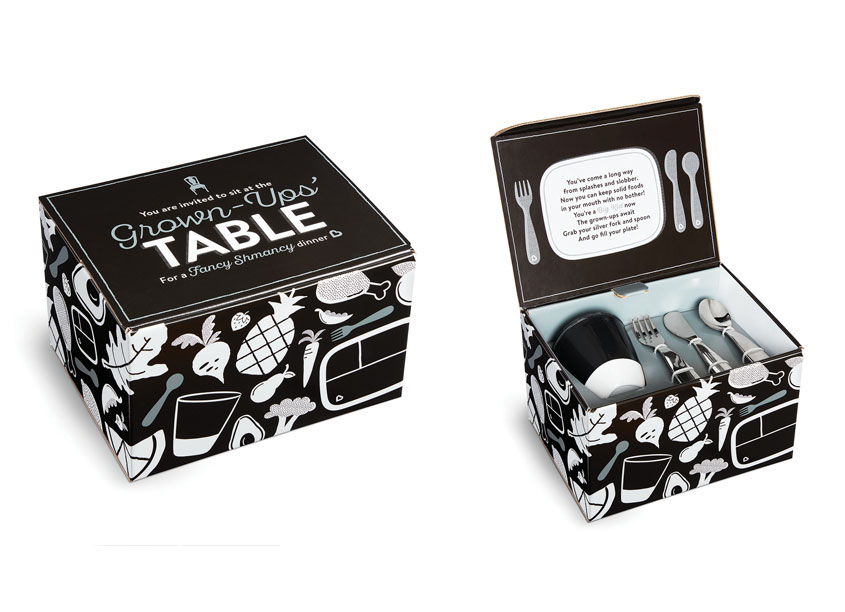 Munchkin, Inc. Grown Ups Table Dining Gift Set