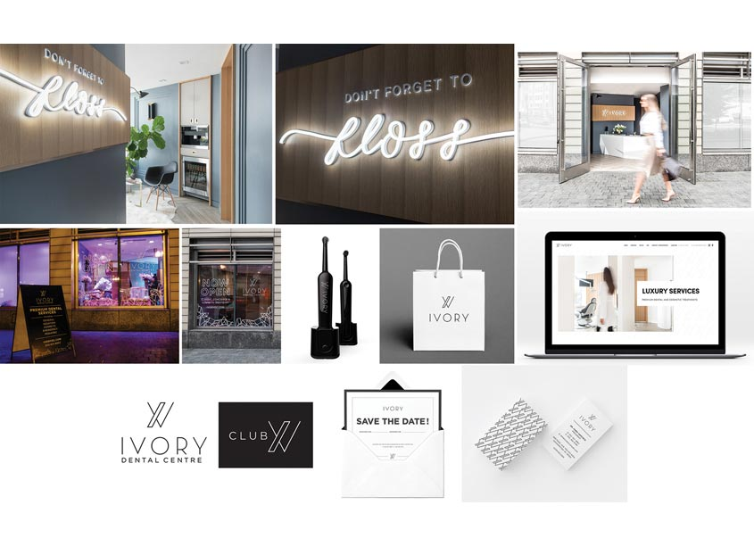 Akseizer Design Group Ivory Dental Centre Brand Campaign
