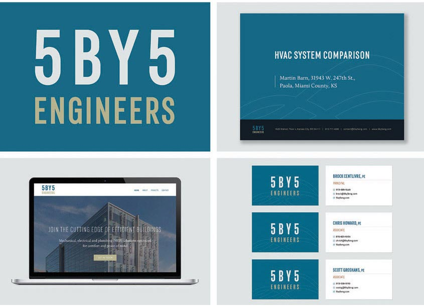 MB Creative 5BY5 ENGINEERS Rebrand