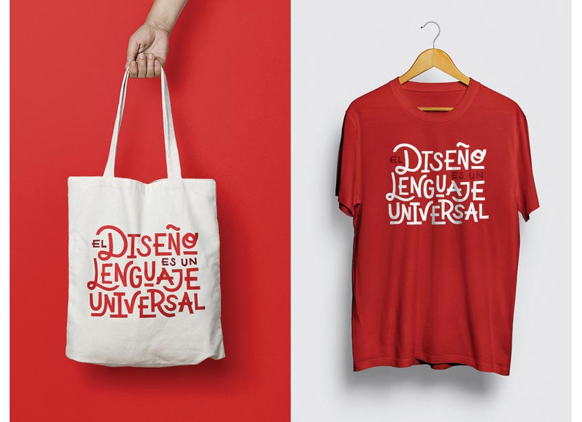 Design Is A Universal Language Promotion by Alan Barba Design