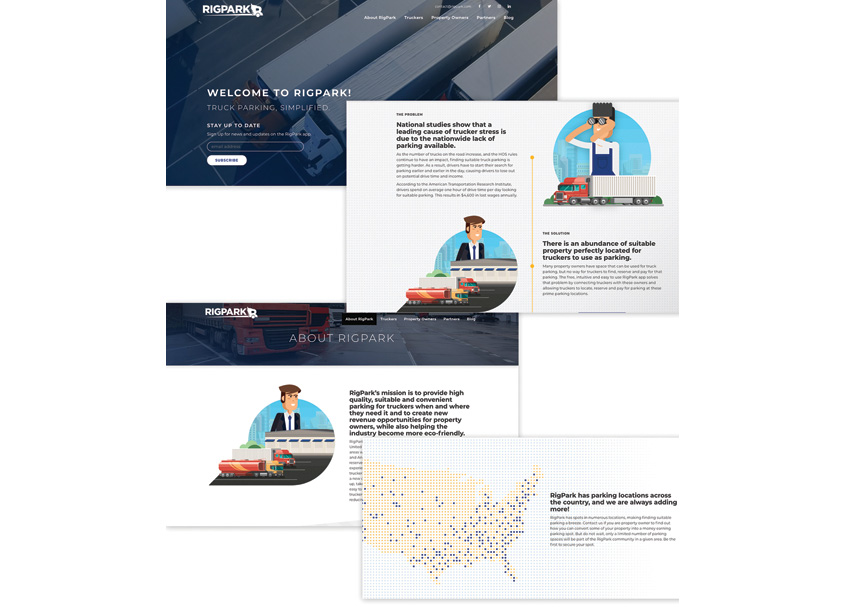 RigPark Website Campaign by Carimus