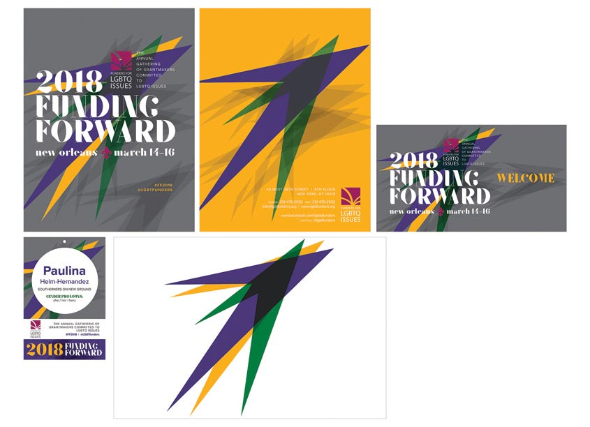 Funding Forward Conference 2018 Branding Package by 80east Design