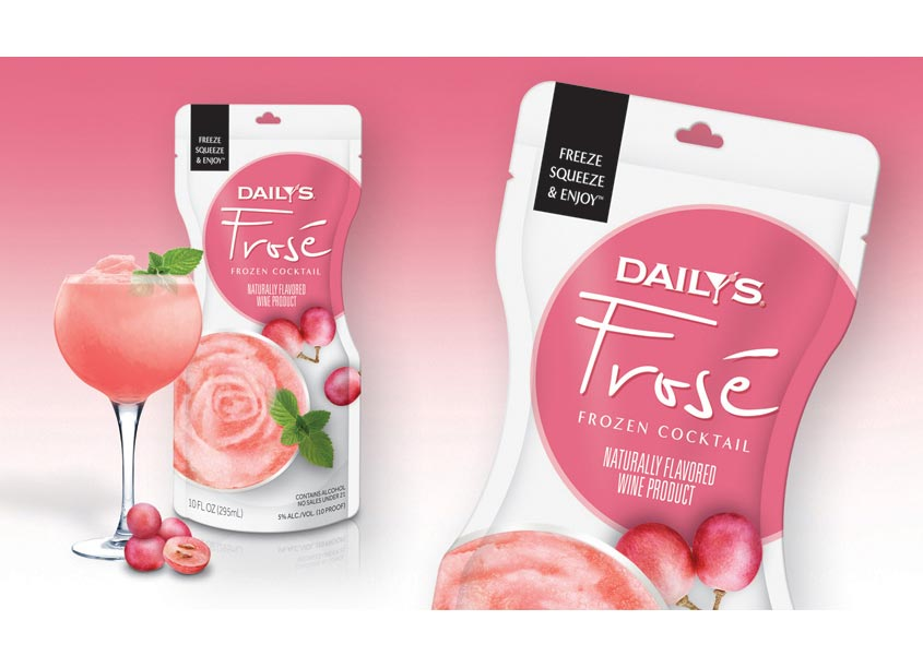 The Biondo Group Daily's Frosé Package Design