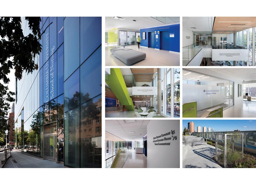 Entro | CVEDesign Columbia University School of Nursing Environmental Graphics