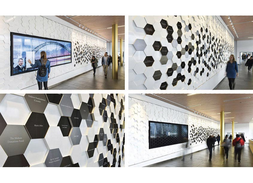 Entro Humber College Donor Wall