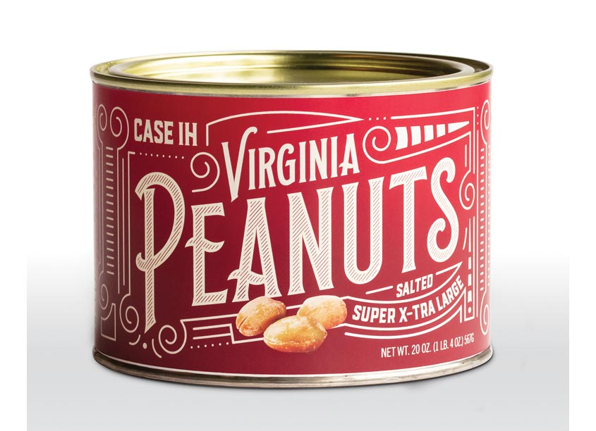 Equity Creative Case IH Virginia Peanut Packaging