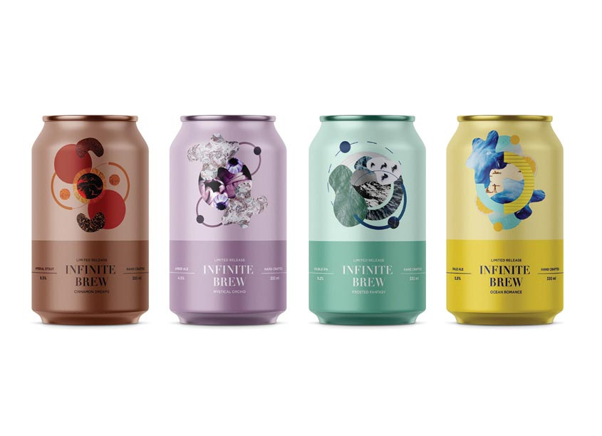 Infinite Brew by Shillington School of Graphic Design