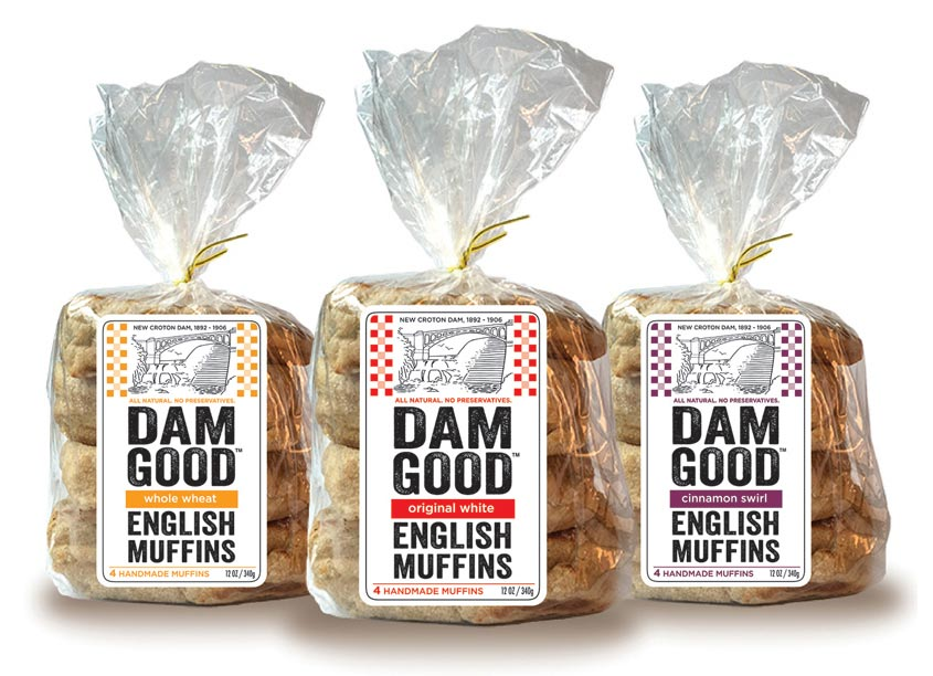 Hudson Valley Graphic Design, LLC Dam Good English Muffins