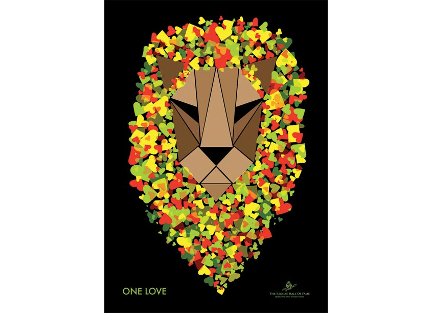 Pakaste-Warner Design One Love Poster