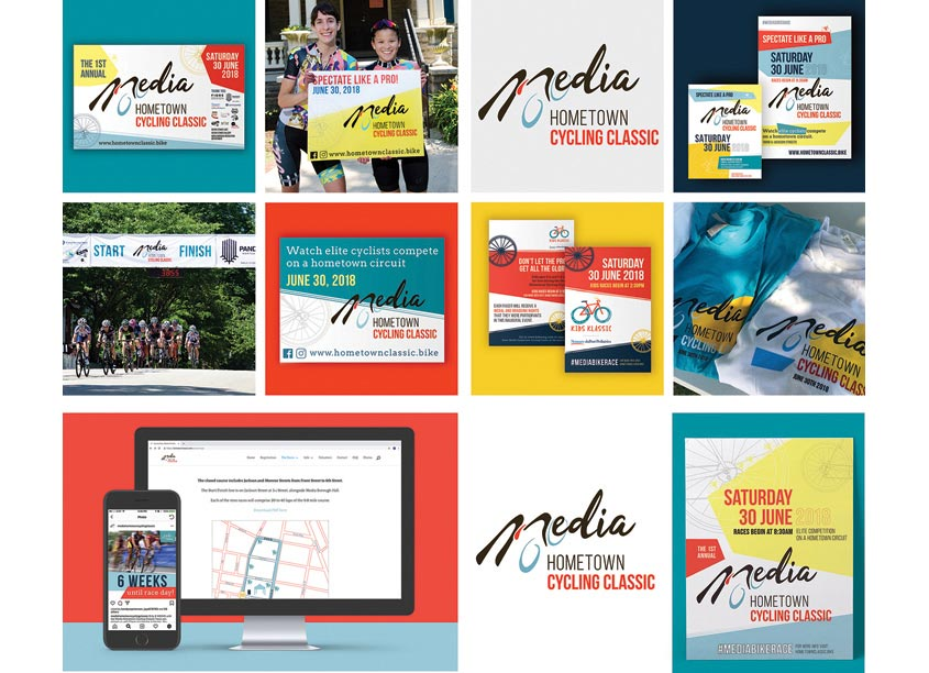 Media Hometown Classic Branding by Fiore Design