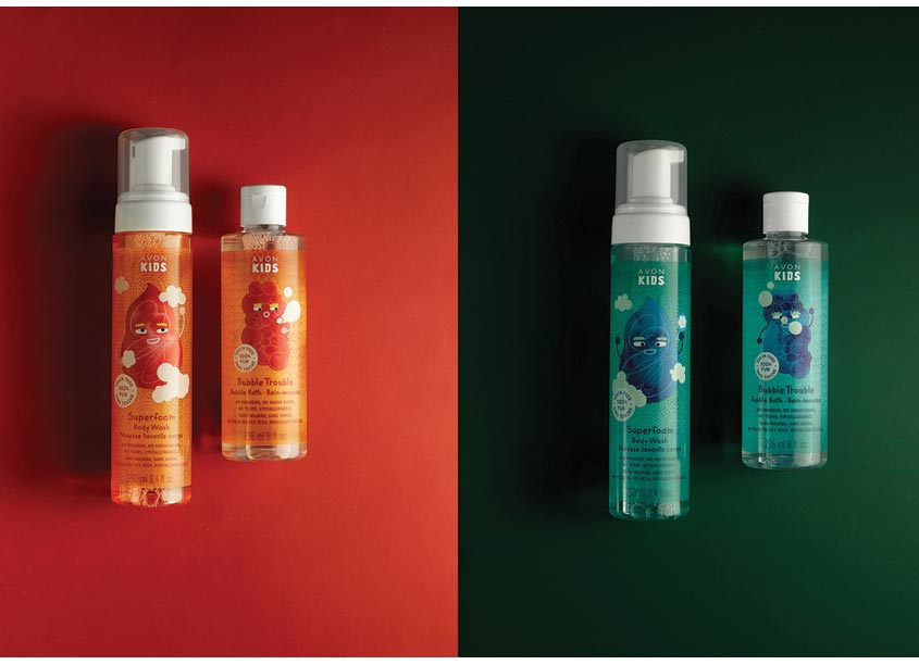 Packaging for Avon Kids by forceMAJEURE Design