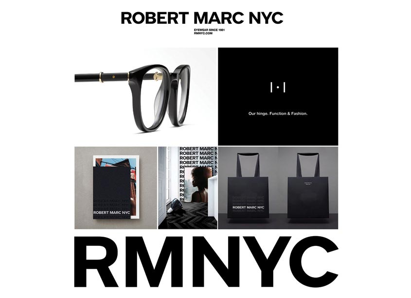 Branding and Identity for Robert Marc by forceMAJEURE Design