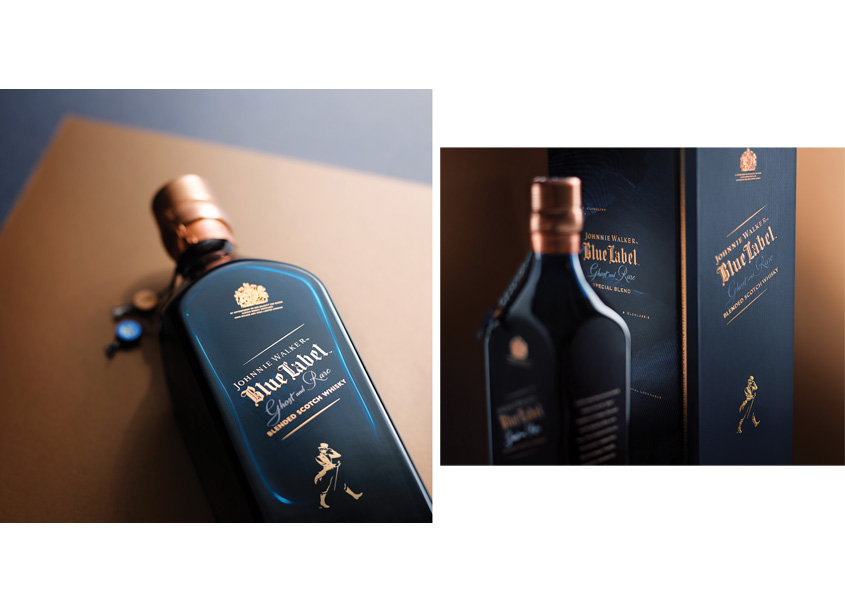 Packaging for Johnnie Walker Ghost & Rare by forceMAJEURE Design