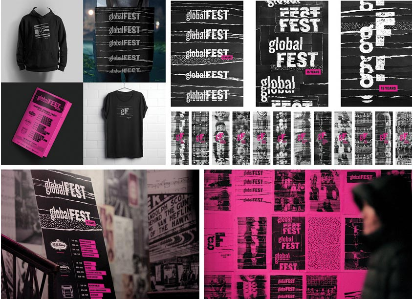 globalFEST 2018 Identity by Diogo Montes