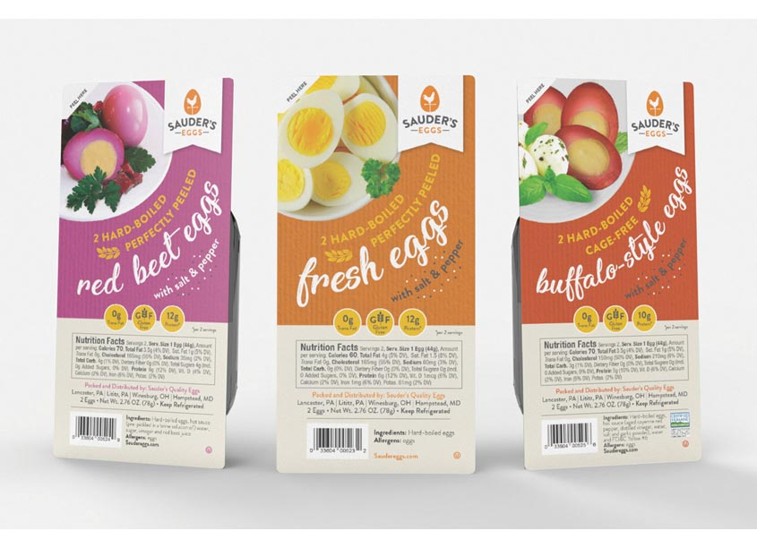 Hard-Boiled Egg Packaging by Merz