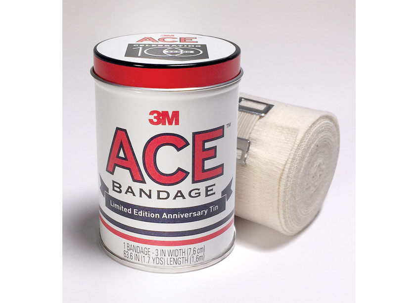 ACE Bandage Anniversary Tin by 3M Design