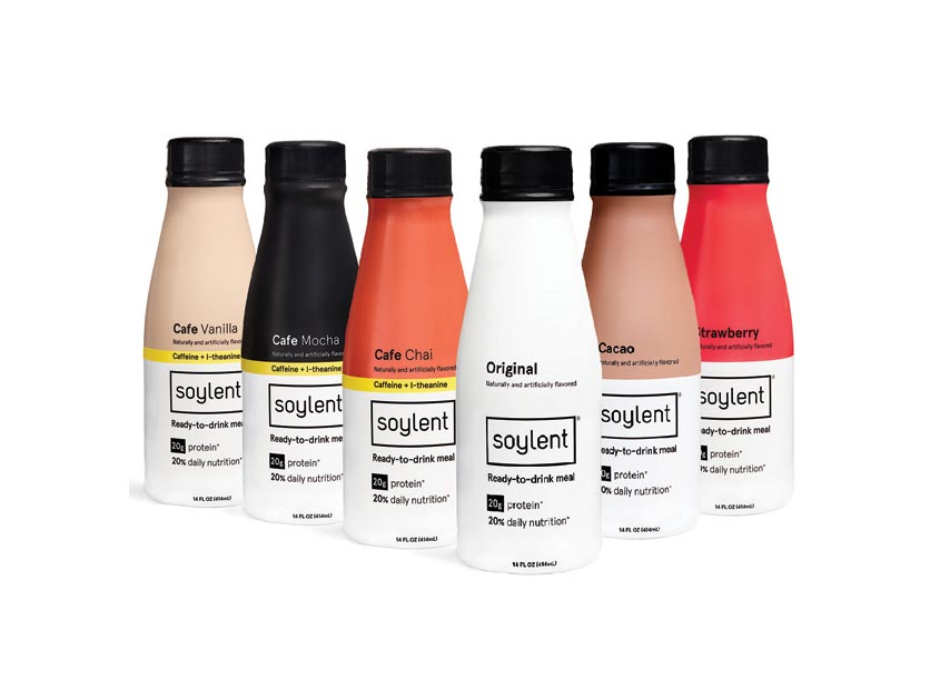 Flood Creative Soylent Package Design