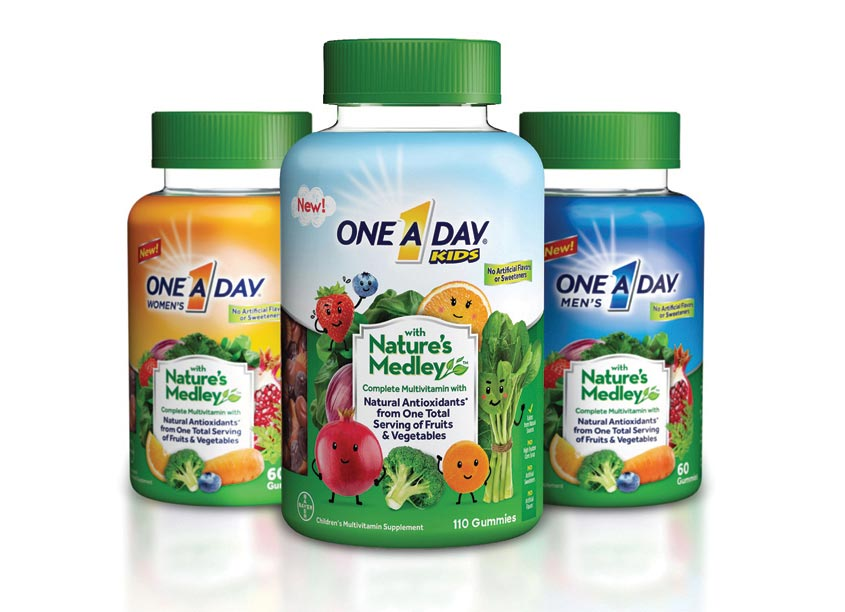 One-A-Day Nature's Medley by Dot Matrix Design Group