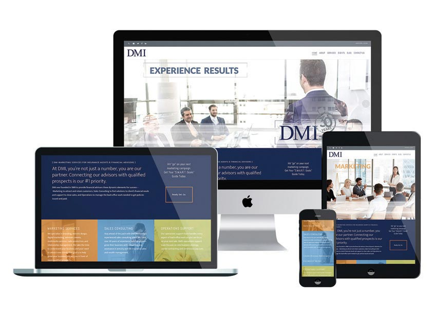 DMI Marketing DMI Website Redesign