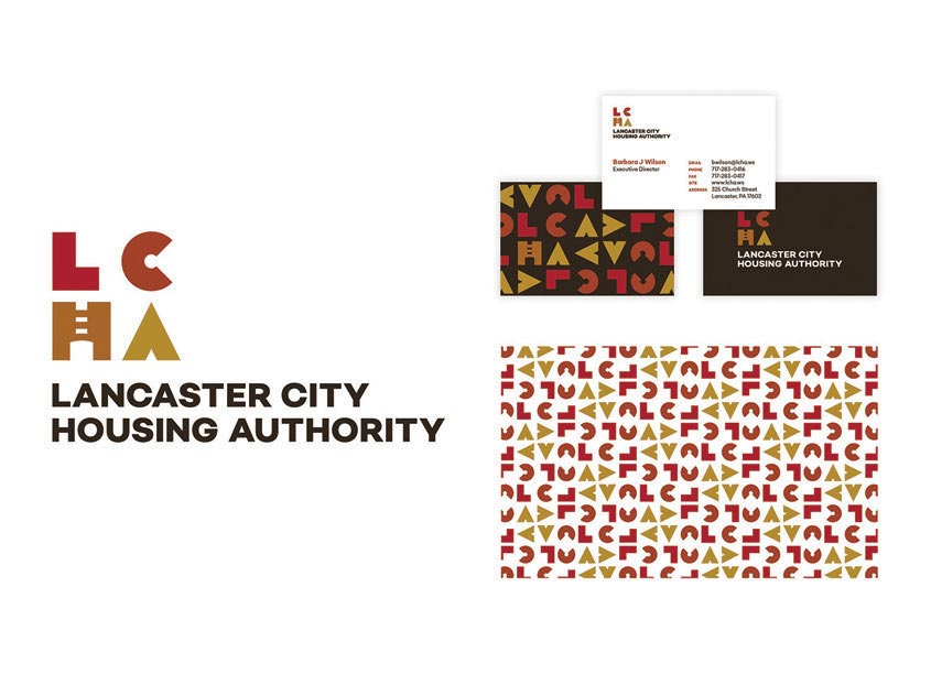 Lancaster City Housing Authority Branding by GoodThree