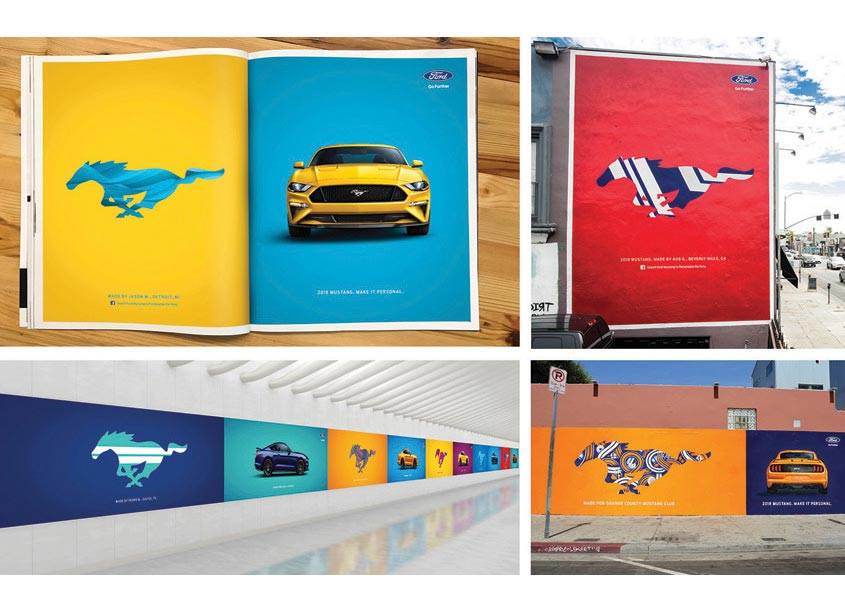GTB - The Park Mustang Make It Personal Campaign