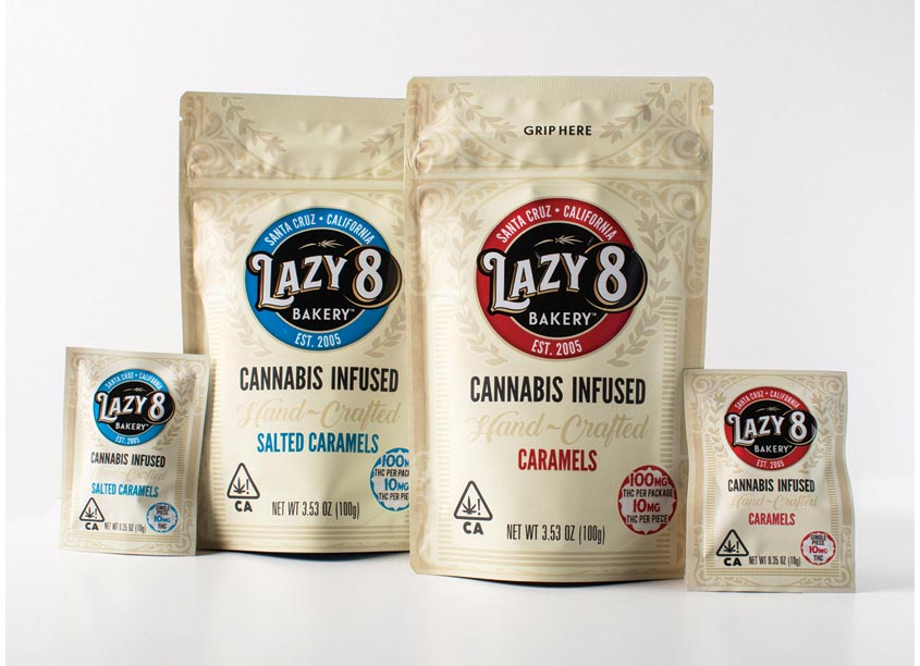 Plaid Marketing Lazy 8 Package Design