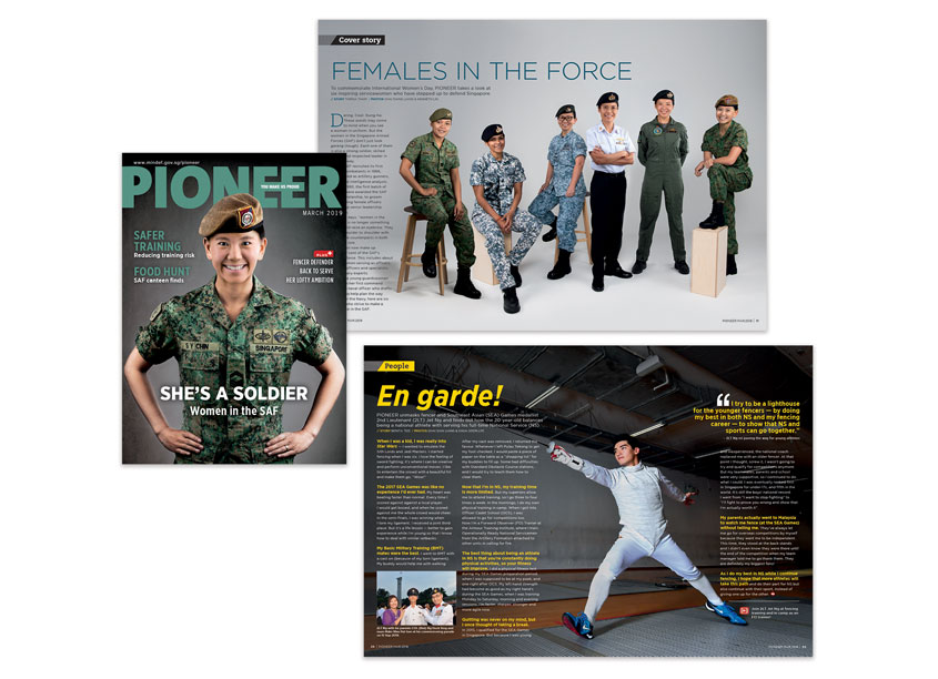 Pioneer Magazine, March 2019 - She's A Soldier by So Drama! Entertainment