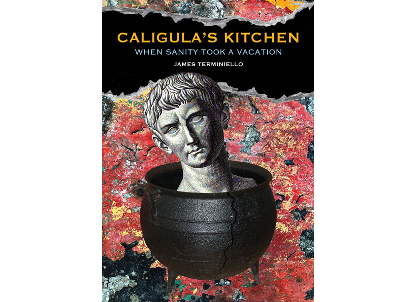 LutemaPhotoNYC.com Caligula's Kitchen Book Cover Design