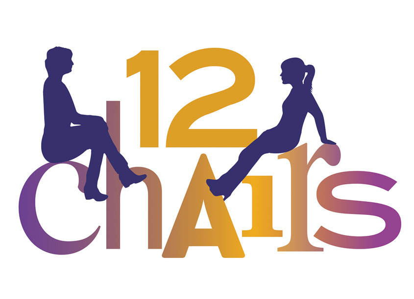 12 Chairs Play Performance Logo by 701 Creative
