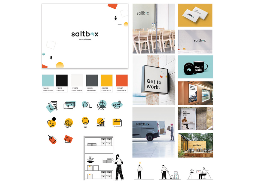 Saltbox Brand Guidelines by FortyFour