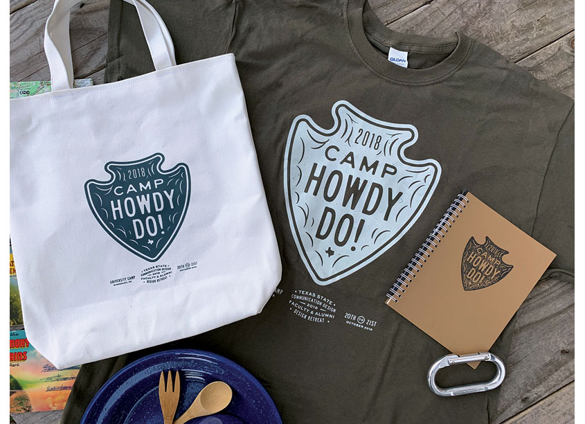Camp Howdy-Do Branding System by Texas State University
