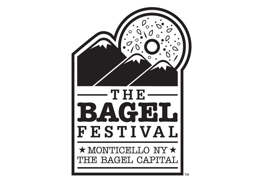 The Bagel Festival Logo by Kevin Hall Design