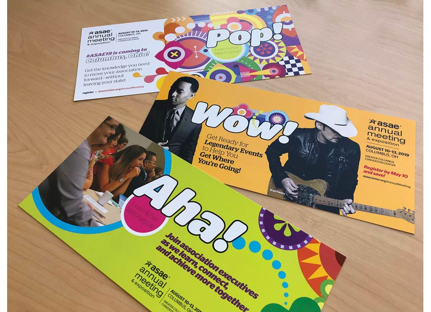 ASAE ASAE Annual Meeting 2019 Postcards