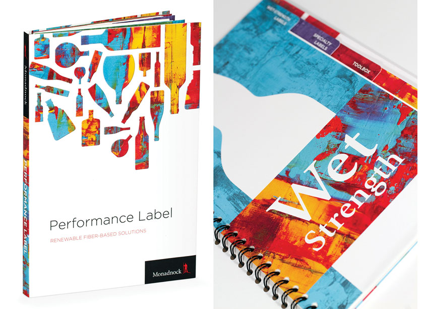 Performance Label Swatchbook by Blossom Creative