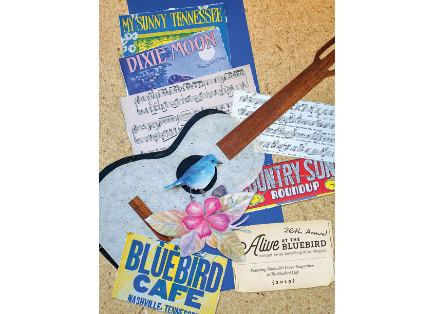 26th Annual Alive At The Bluebird Event Poster by Alive Hospice