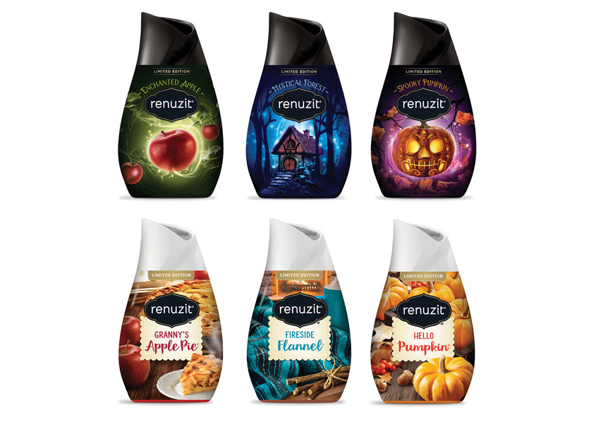 Renuzit Seasonals Package Design by Smith Design