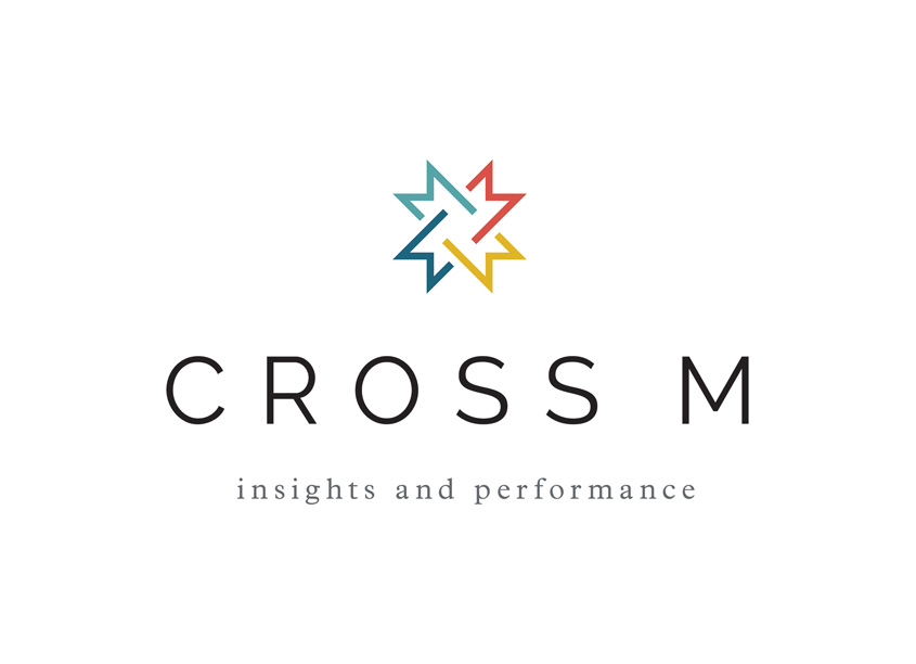 Cross M Logo by Liaison Design Group