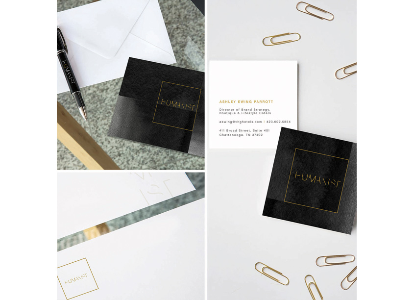 Humanist Stationery by Streetsense
