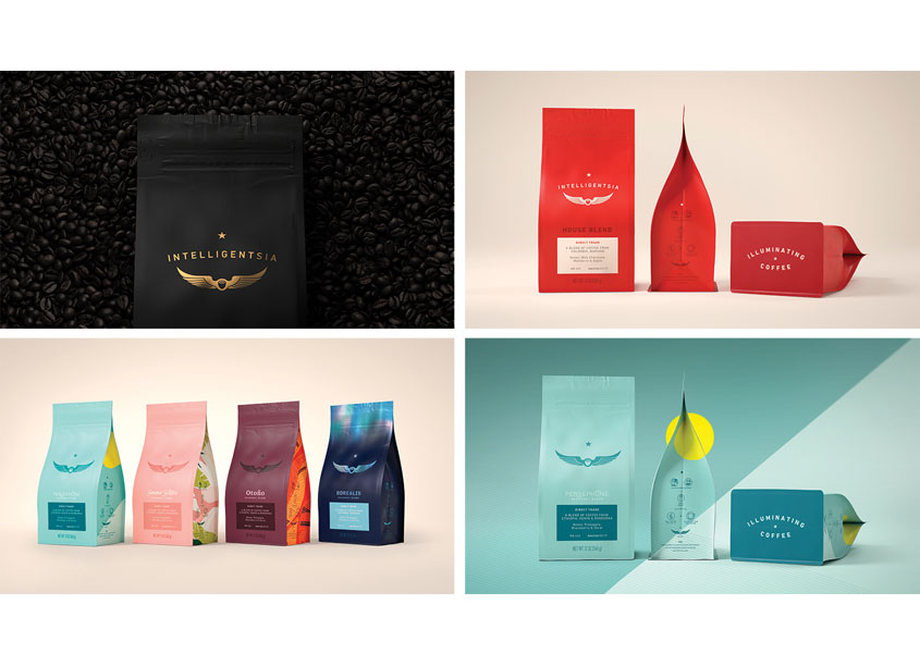 Intelligentsia Coffee Package Redesign by Pearlfisher
