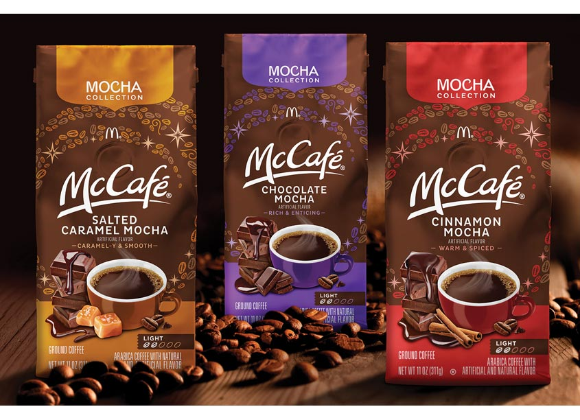 McCafé Mocha Collection by One Flight Up Design