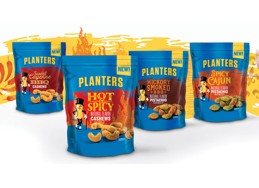 Planters Bold Flavors Cashews & Pistachios by One Flight Up Design