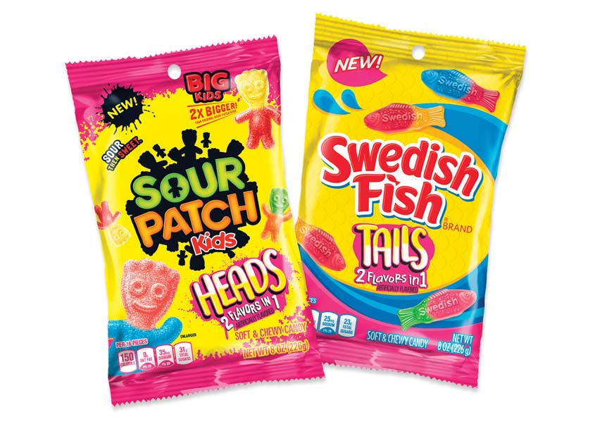 Sour Patch Kids & Swedish Fish Tails Package Design by One Flight Up Design